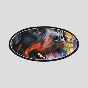 Rottweiler Painting Patch