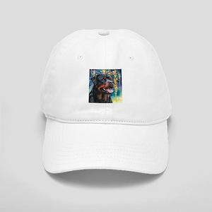 Rottweiler Painting Baseball Cap