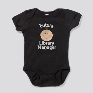 Future Library Manager Baby Bodysuit