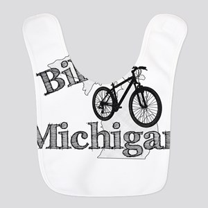 Bike Michigan Polyester Baby Bib