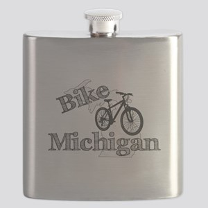 Bike Michigan Flask