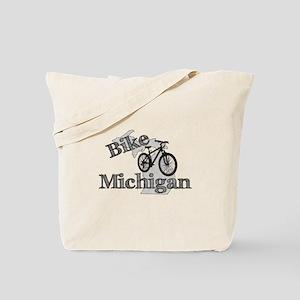 Bike Michigan Tote Bag