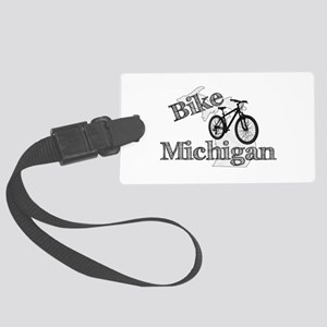 Bike Michigan Large Luggage Tag