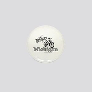 Bike Michigan Mini Button