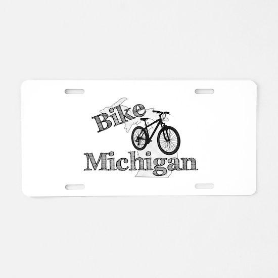 Bike Michigan Aluminum License Plate