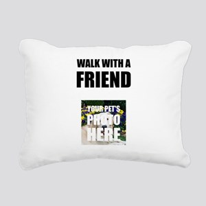 Walk With A Friend Pet Personalize It! Rectangular