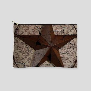 rustic texas lone star Makeup Bag