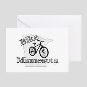 Bike Minnesota Greeting Card