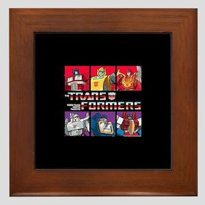 Transformers Autobots Decepticons Framed Tile