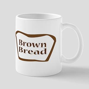 Brown Bread Outline shape Mugs