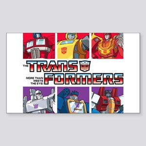 Transformers Autobots Decepticons Sticker
