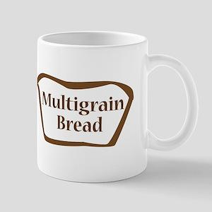 Multigrain Bread Outline Shape Mugs