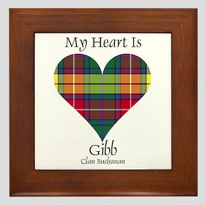 Heart-Gibb.Buchanan Framed Tile