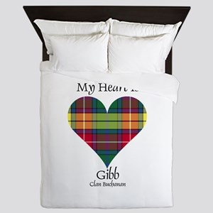 Heart-Gibb.Buchanan Queen Duvet