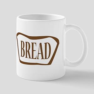 Bread Outline Icon Mugs
