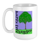 Happy Tree Hugger Large Mug