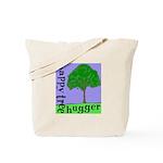 Happy Tree Hugger Tote Bag