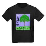 Happy Tree Hugger Kids Dark T-Shirt