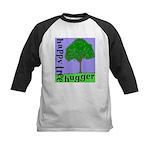 Happy Tree Hugger Kids Baseball Jersey