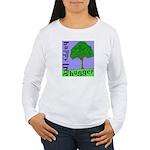 Happy Tree Hugger Women's Long Sleeve T-Shirt