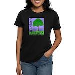 Happy Tree Hugger Women's Dark T-Shirt