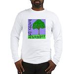 Happy Tree Hugger Long Sleeve T-Shirt