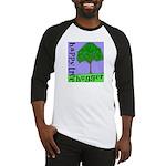 Happy Tree Hugger Baseball Jersey