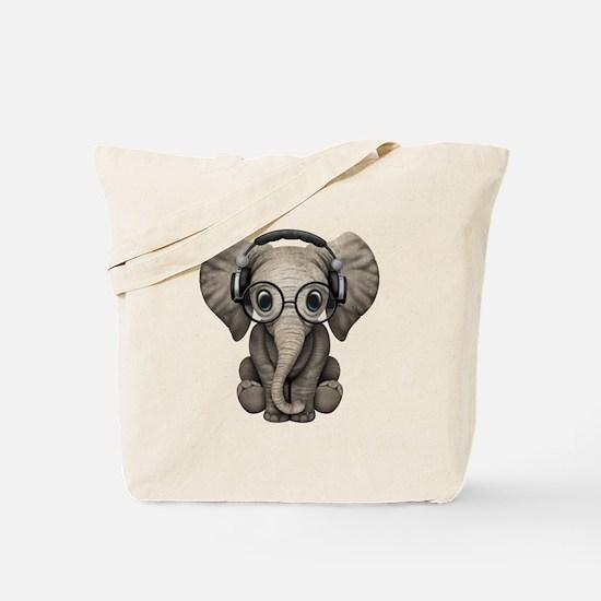 Funny Elephant Tote Bag