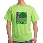 Happy Tree Hugger Green T-Shirt