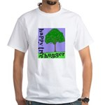 Happy Tree Hugger White T-Shirt