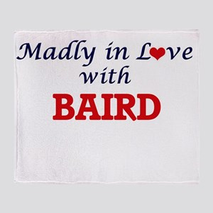 Madly in love with Baird Throw Blanket