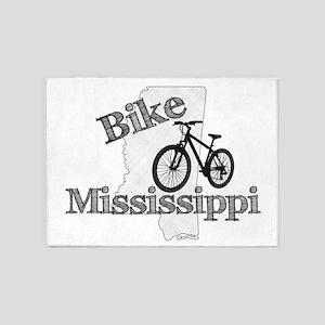 Bike Mississippi 5'x7'Area Rug