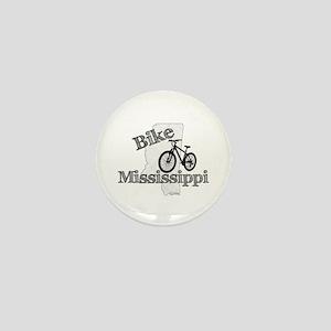 Bike Mississippi Mini Button