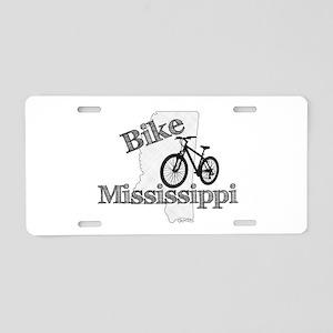 Bike Mississippi Aluminum License Plate
