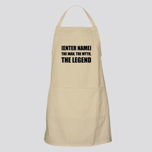 Man Myth Legend Personalize It! Apron