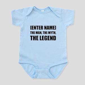 Man Myth Legend Personalize It! Body Suit