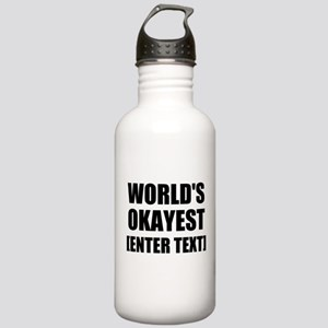 World's Okayest Personalize It! Water Bottle