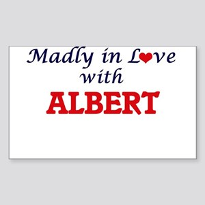 Madly in love with Albert Sticker