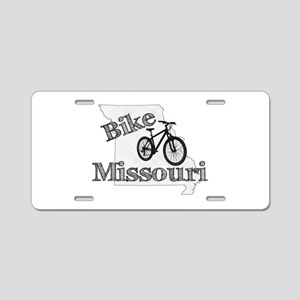 Bike Missouri Aluminum License Plate