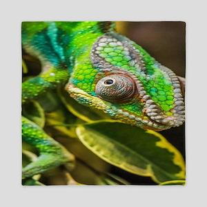 Chameleon Queen Duvet