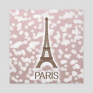 Paris: City of Light, Eiffel Tower (Pi Queen Duvet
