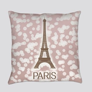 Paris: City of Light, Eiffel Tower Everyday Pillow