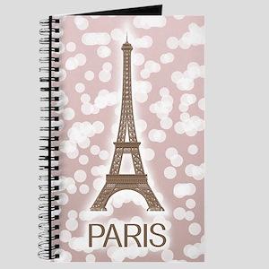 Paris: City of Light, Eiffel Tower (Pink) Journal