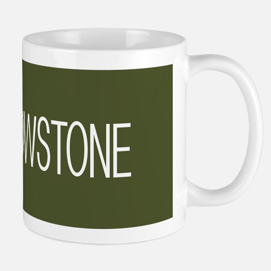 Yellowstone National Park: Moose (Green Mug