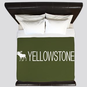 Yellowstone National Park: Moose (Green King Duvet