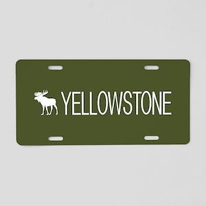 Yellowstone National Park: Aluminum License Plate