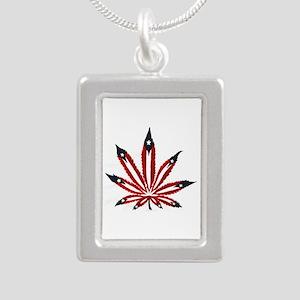 PR Weed Leaf Necklaces