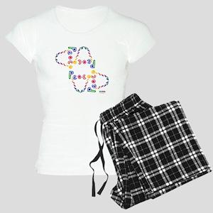 BB PEACE VARIED NEON MIRRORED Pajamas