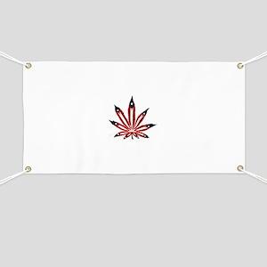PR Weed Leaf Banner