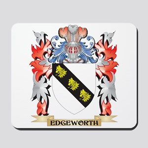 Edgeworth Coat of Arms - Family Crest Mousepad